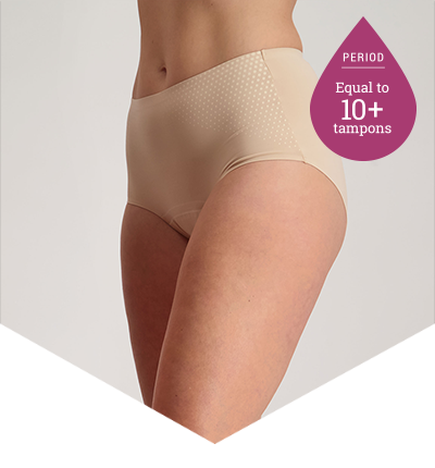 Heavy Periods Panties - 10+ Tampons Worth - Just'nCase by Confitex