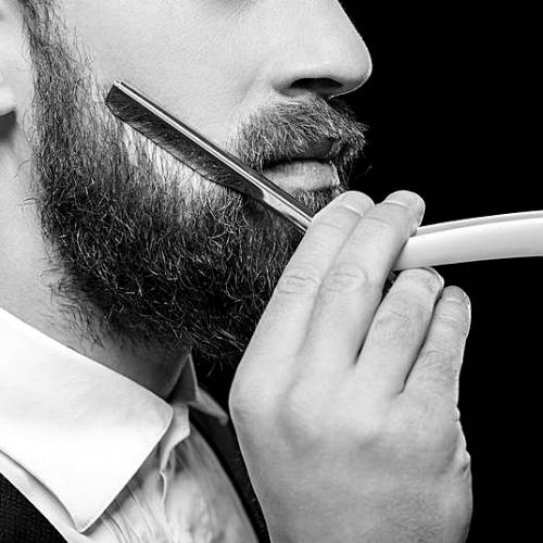 Man with a Straight Razor