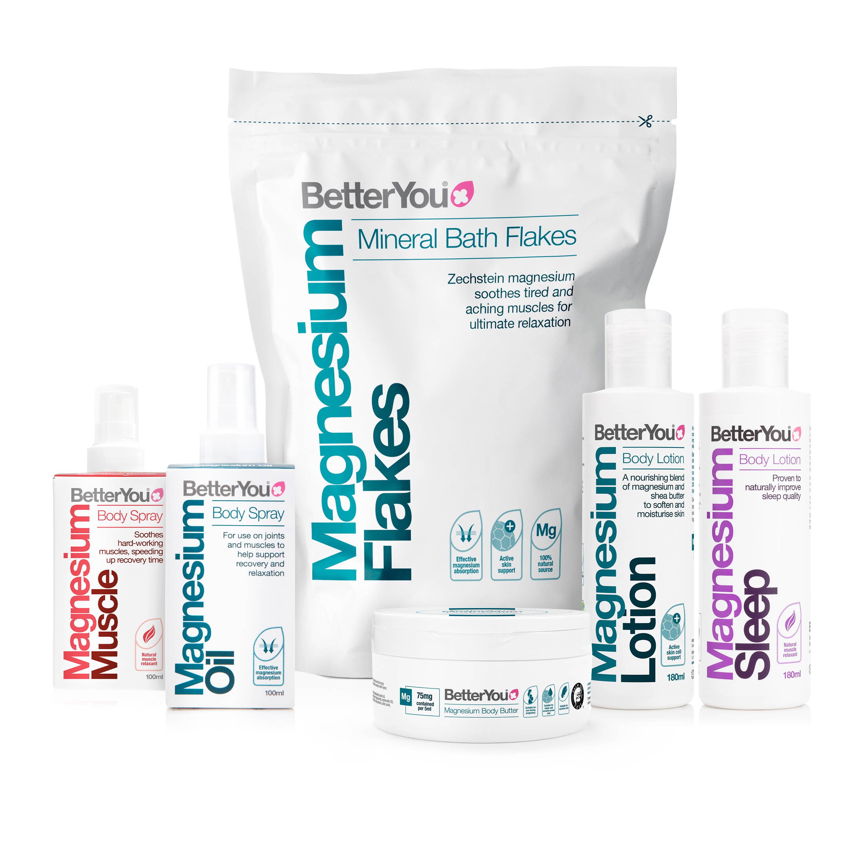 BetterYou transdermal magnesium range