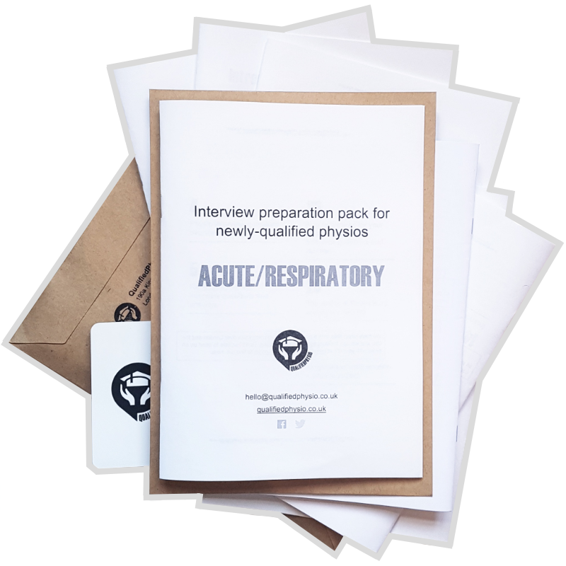 QualifiedPhysio Acute / Respiratory Interview Preparation Pack