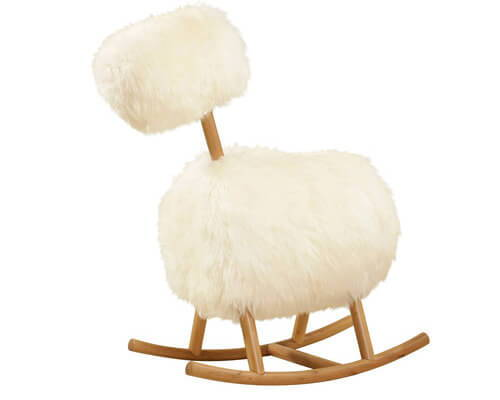 Innermost HiHo Sheepskin Rocker