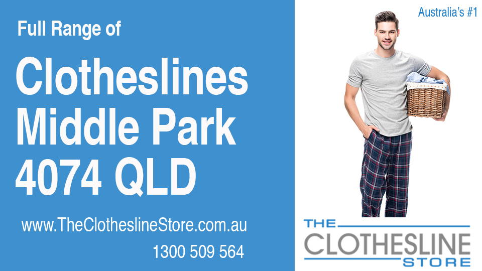 New Clotheslines in Middle Park Queensland 4074