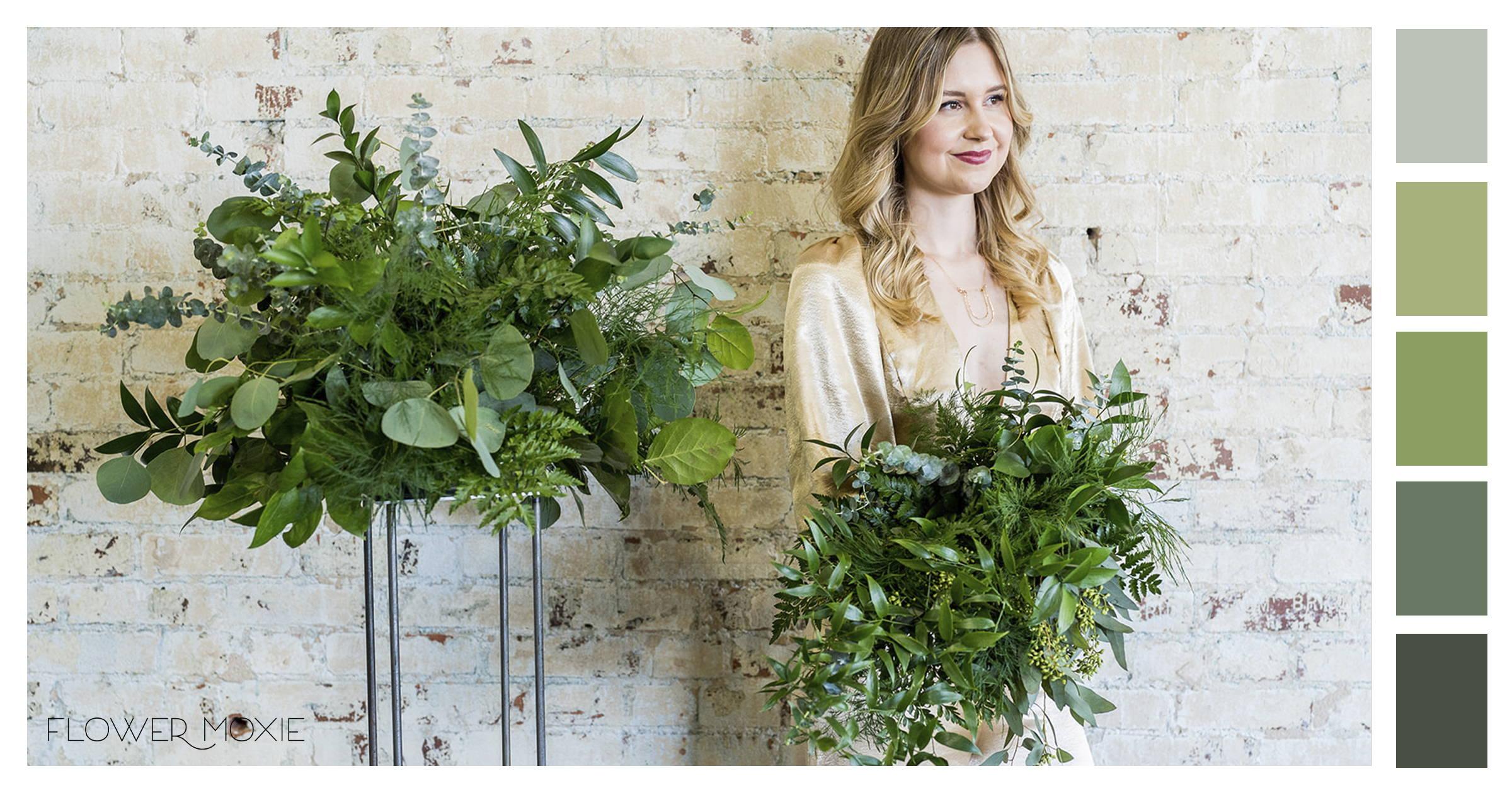 al greens wedding flowers diy