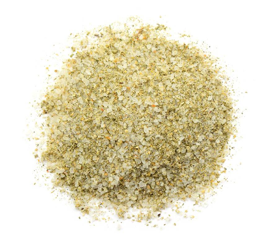 close up of seasoned salt