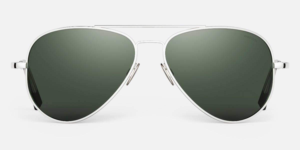 23k White Gold Concorde Sunglasses