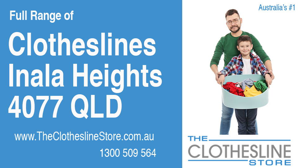 New Clotheslines in Inala Heights Queensland 4077
