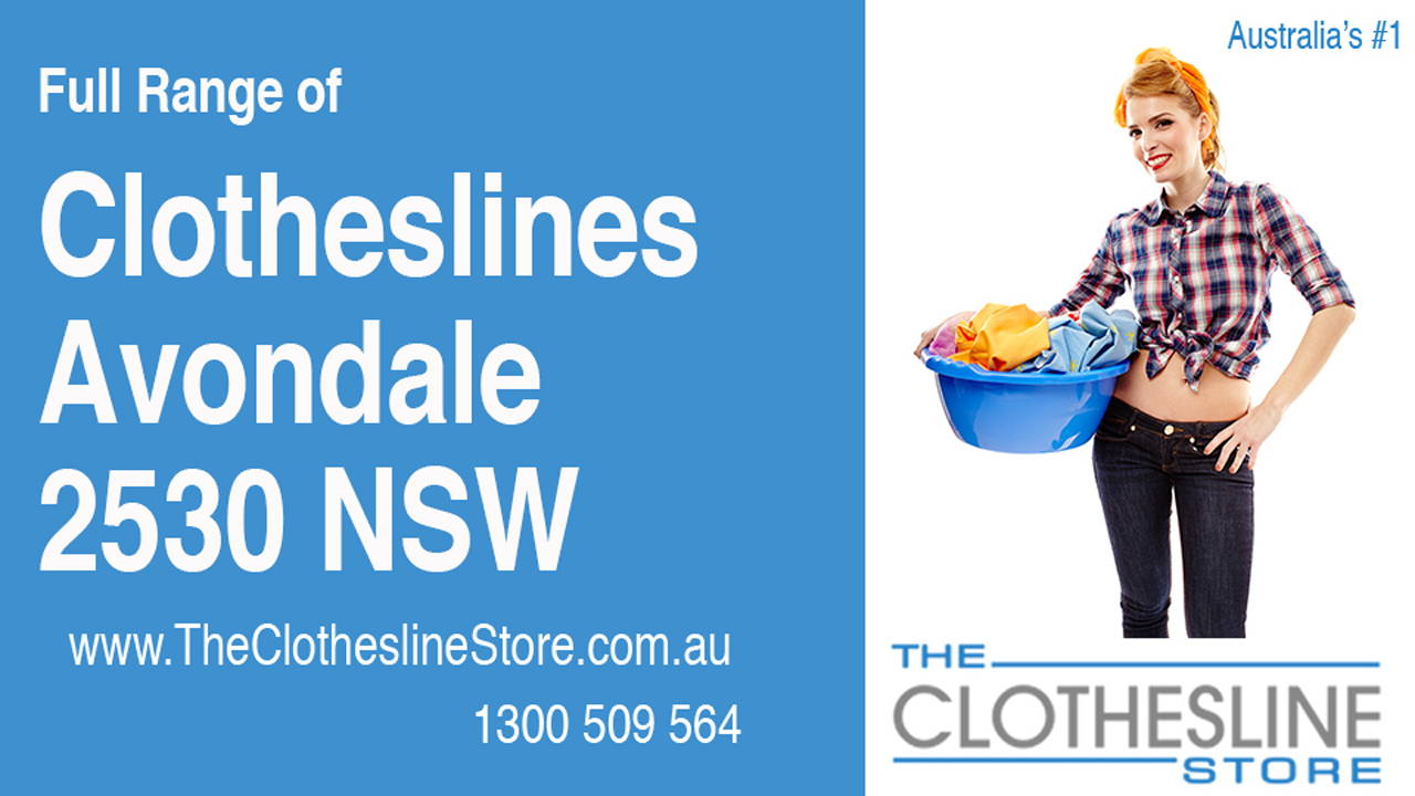 New Clotheslines in Avondale 2530 NSW