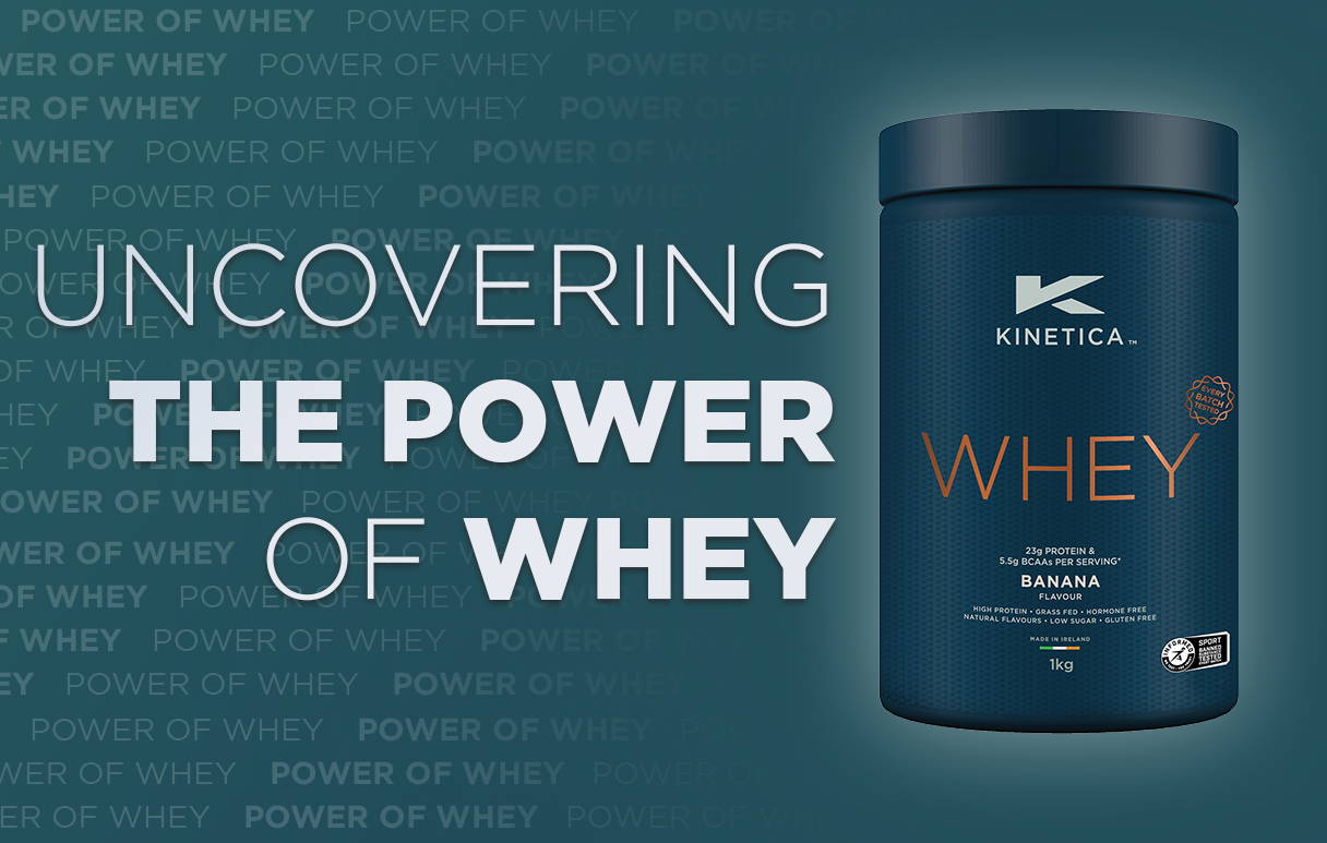 Uncovering the Power of WheybyDr.David Synnott