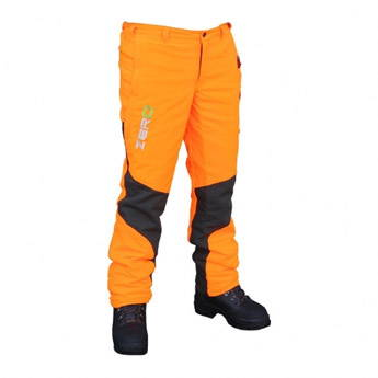 image of Clogger ZERO Chainsaw Trousers - Orange