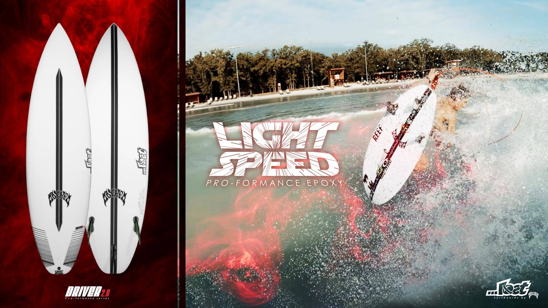 Lightspeed EPS surfboards are for sale now