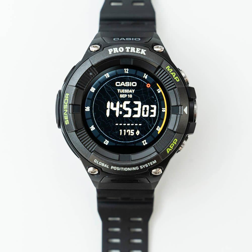 CASIO(カシオ)/プロトレック スマート WSD-F21HR/ブラック/UNISEX