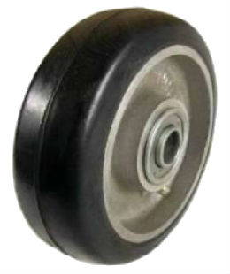 Rubber on Aluminum Caster Wheels