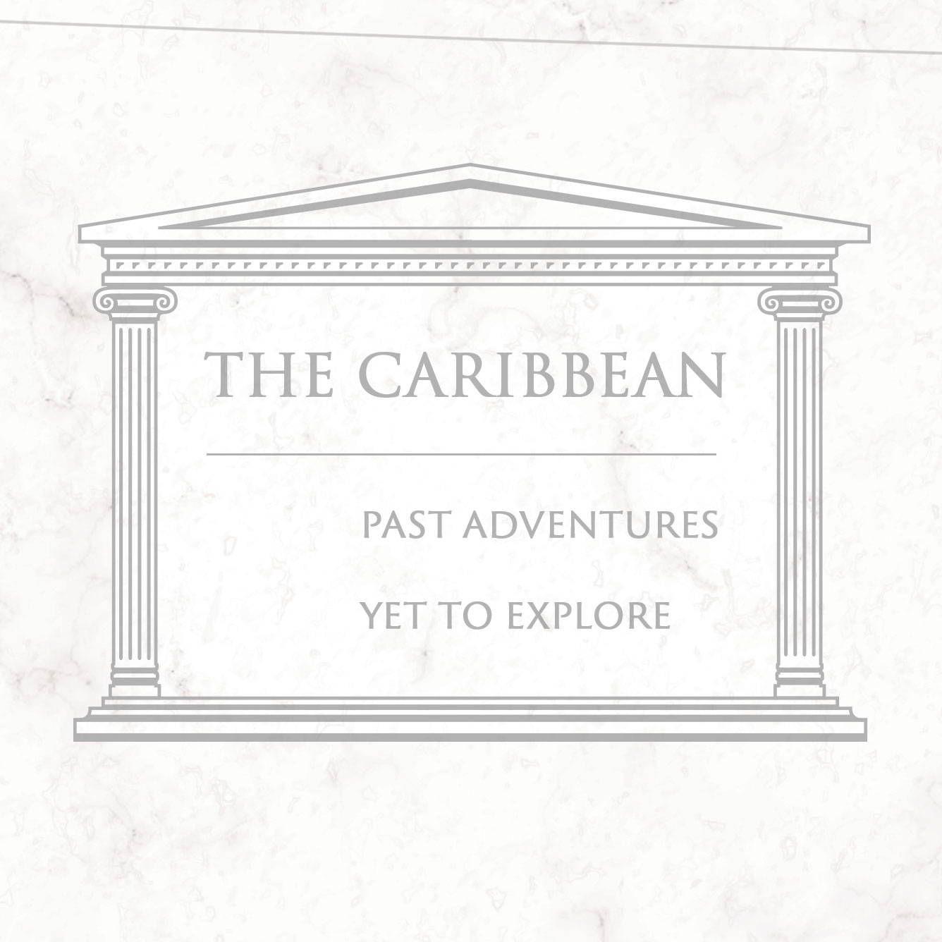 Conquest Maps Classic Marble Caribbean Legend