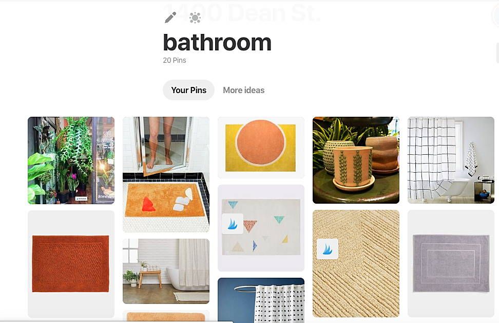 An overview of the You & Yours Pinterest page.