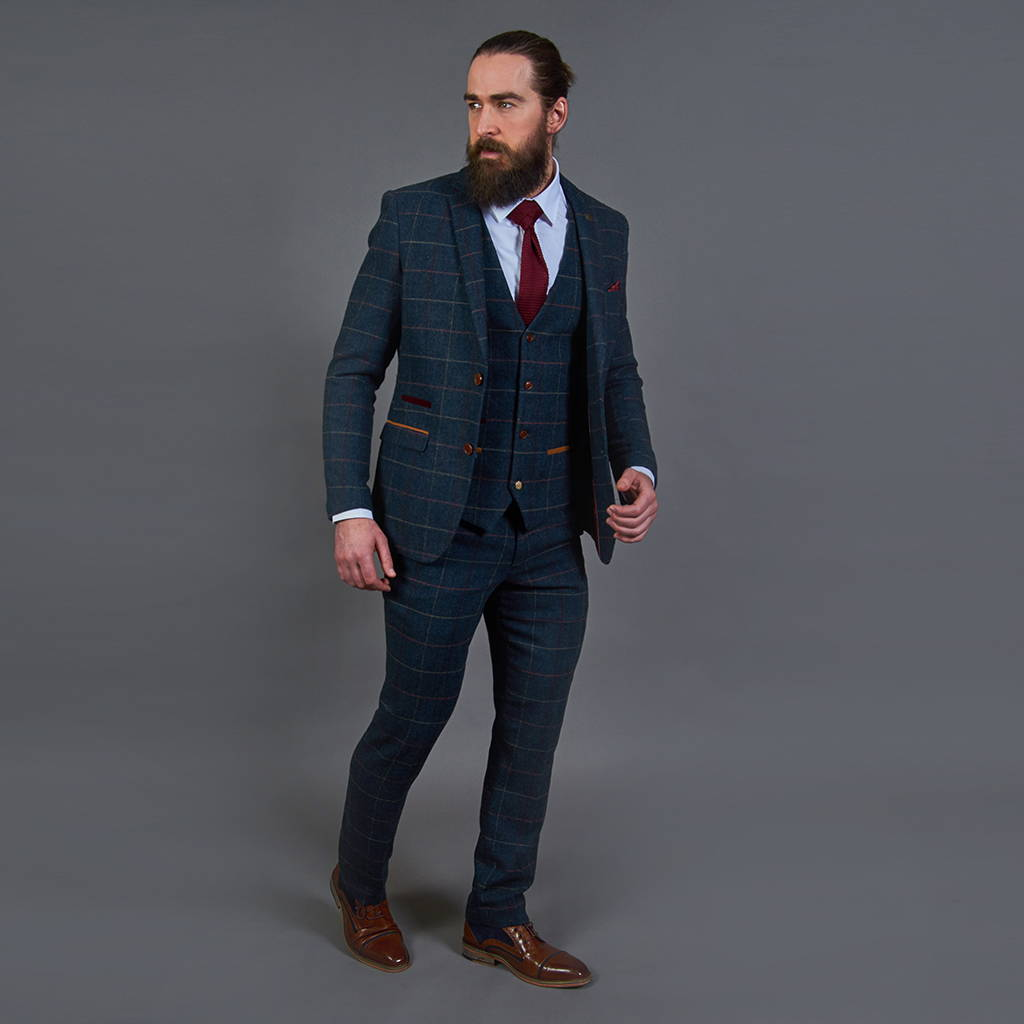 b1fbc1df61ea from £224.97 (3 Piece). If you're looking for a modern twist on a  traditional tweed suit ...