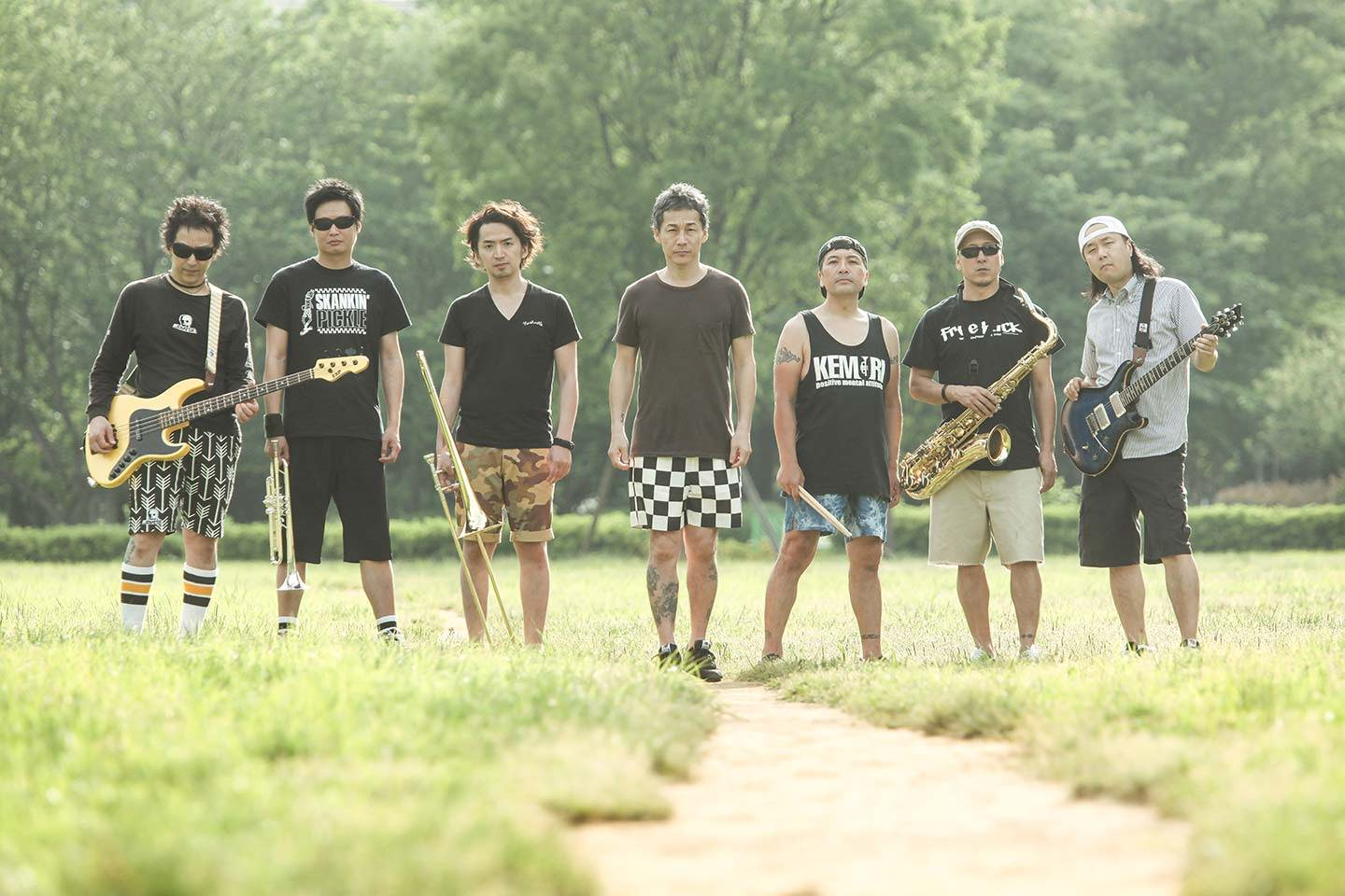 KEMURI band Japanese ska punk