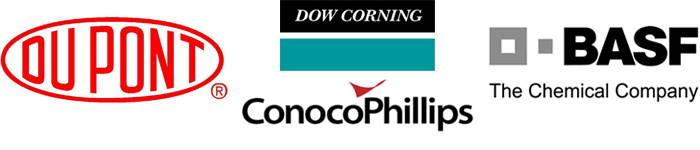 BASF, Conoco Phillips, Dow Cornin, E.I. DuPont