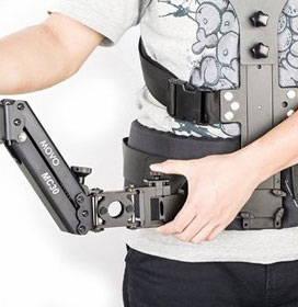 dual articulating arm