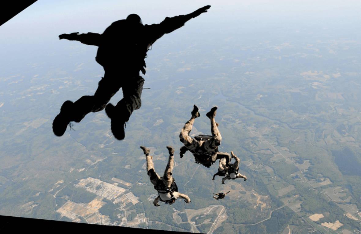 Navy SEAL Skydive