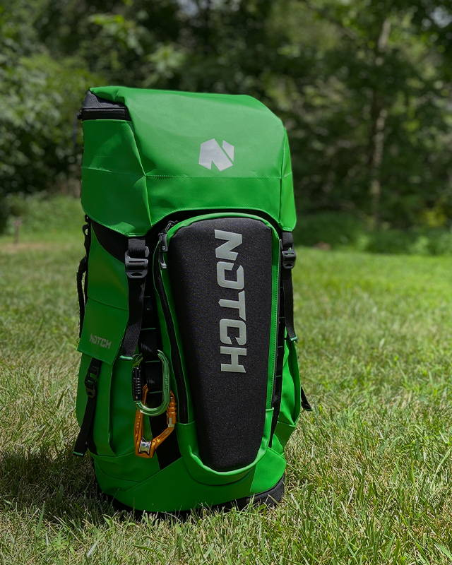 image of GO GREEN<br>With the Limited Edition Notch Pro Gear Bag