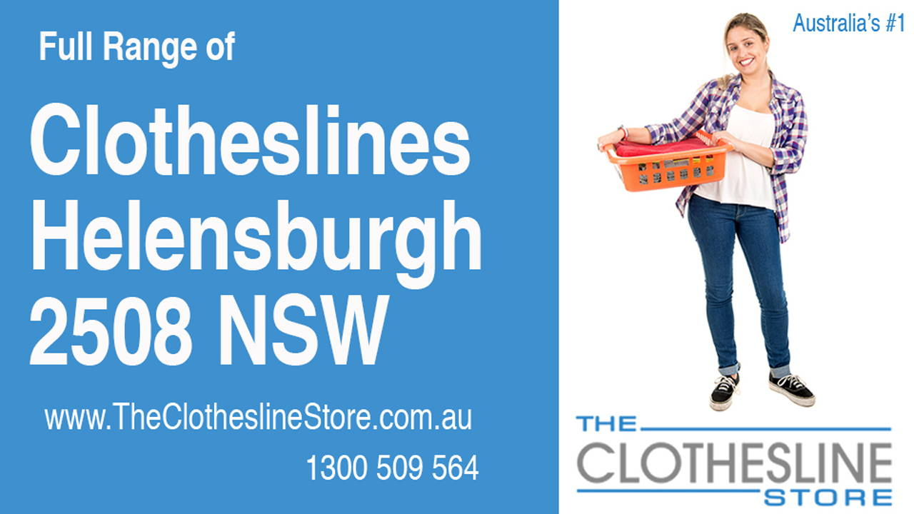 New Clotheslines in Helensburgh 2508 NSW