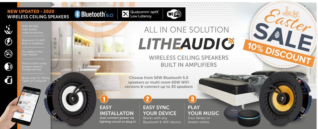 Lithe Audio Easter Sale at Audio Volt 10% Discount