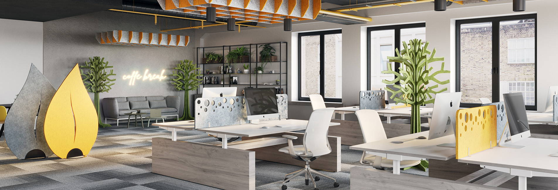 acoustic additions office