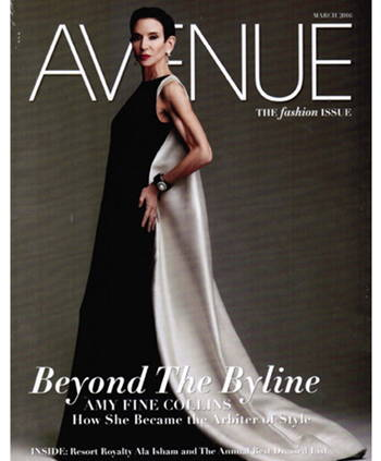 Avenue March 2016 cover page 1