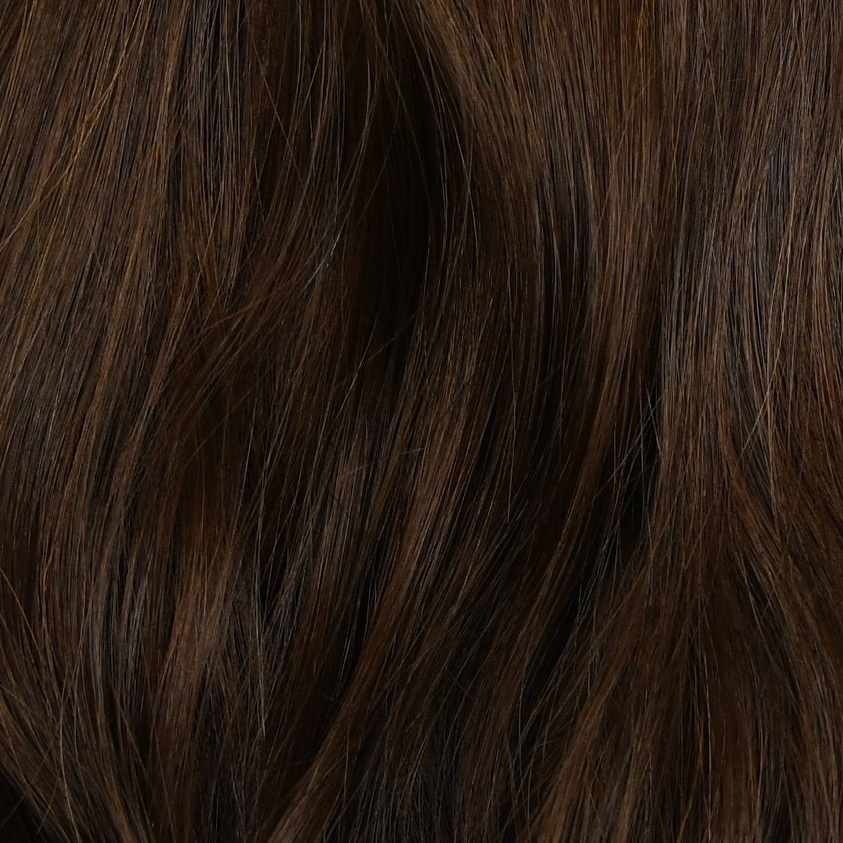 light brown and light black  color hair extensions sample in hair color chart