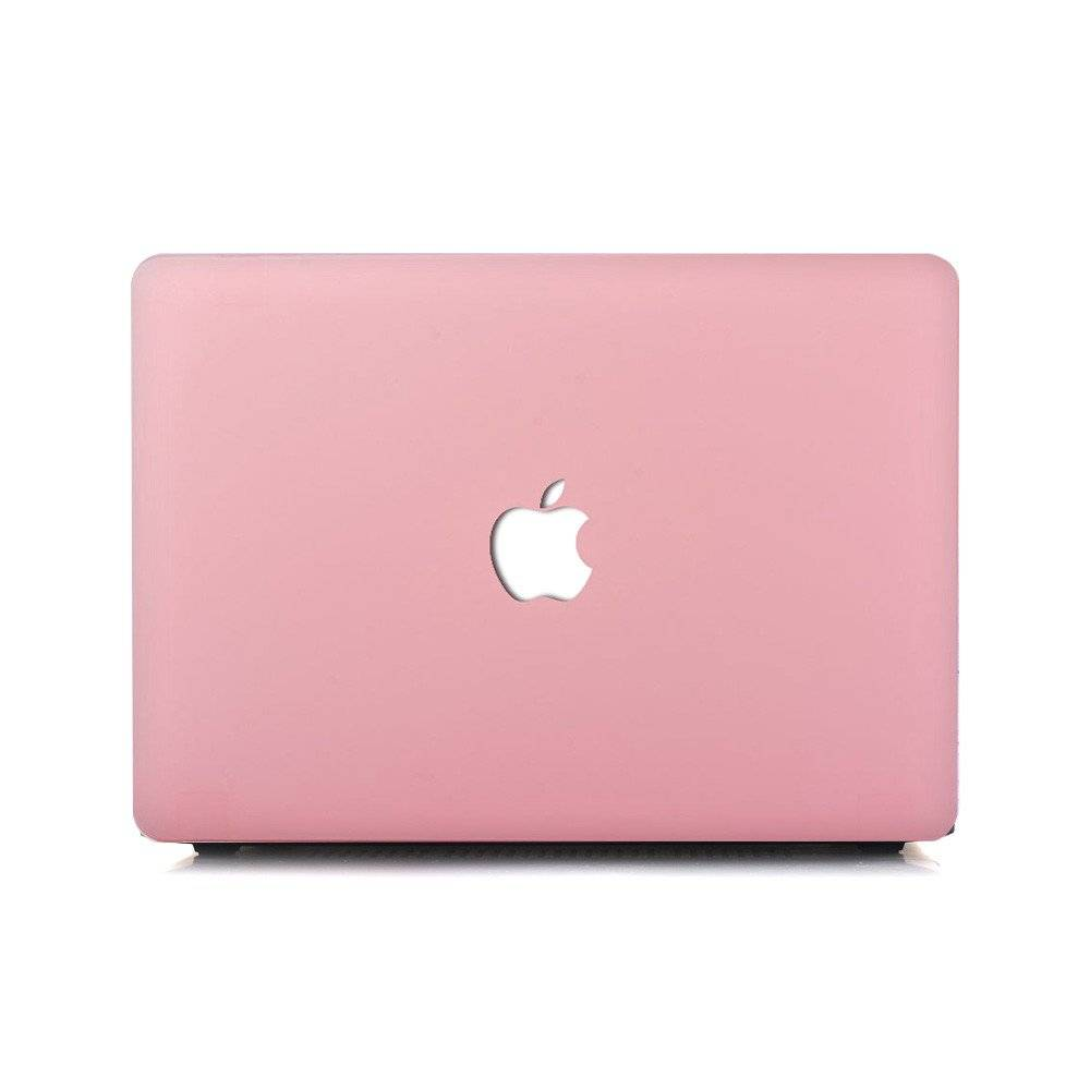 8 Best MacBook & iPhone Accessories - Matte Love Pink Macbook Air Case