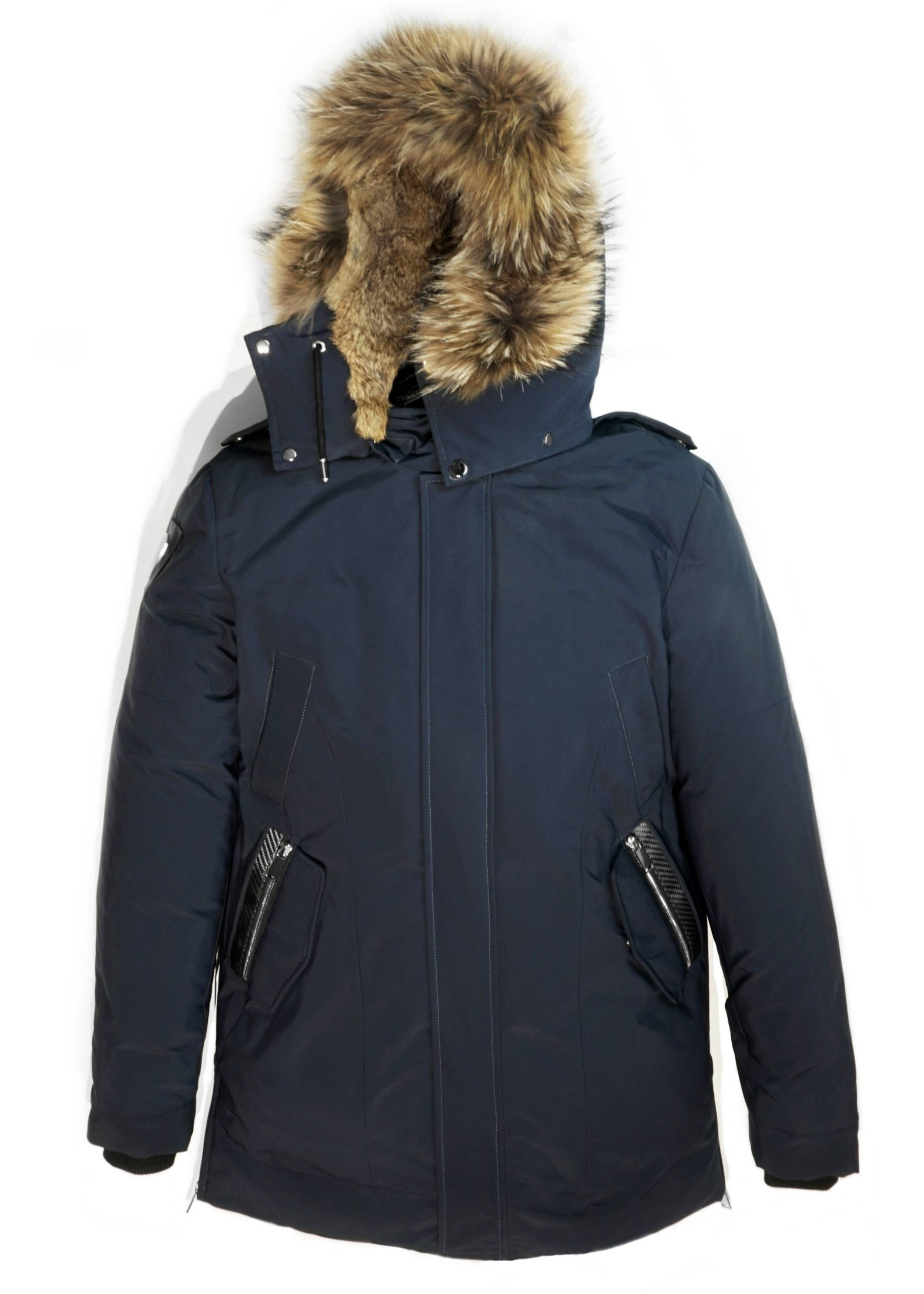 Carbonesque mens scandinavia goose down parka