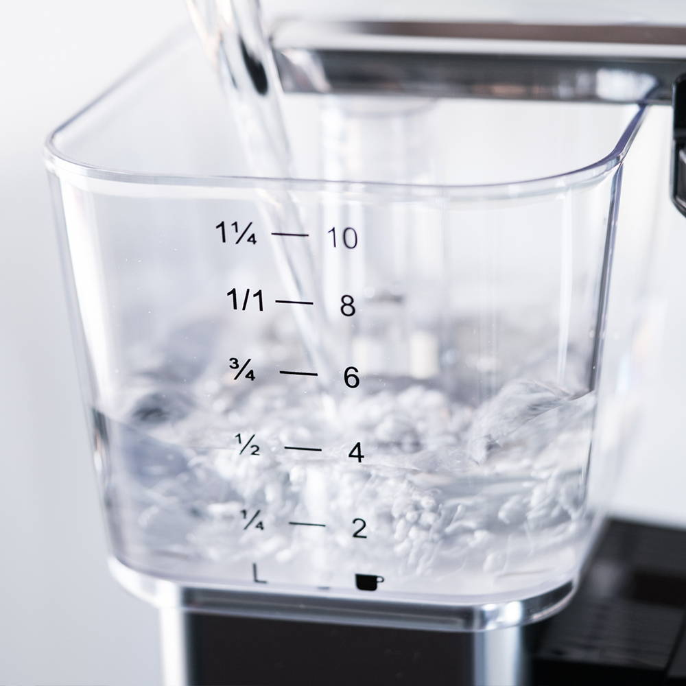 Moccamaster coffee brewer water reservoir