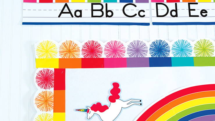 Hello Sunshine classroom borders and cut-outs