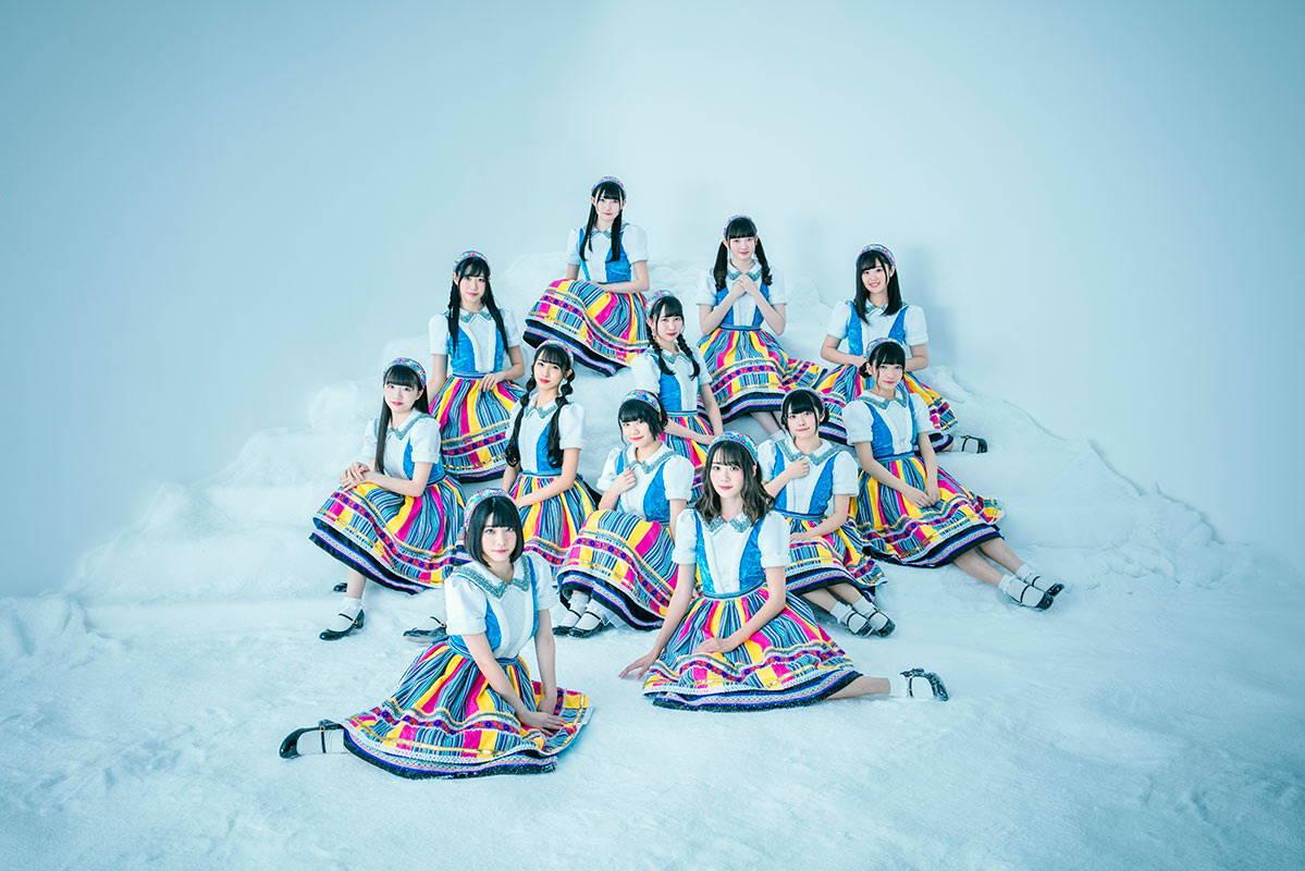 Niji no Conquistador Japanese idol group pic 2020.  虹のコンキスタドール
