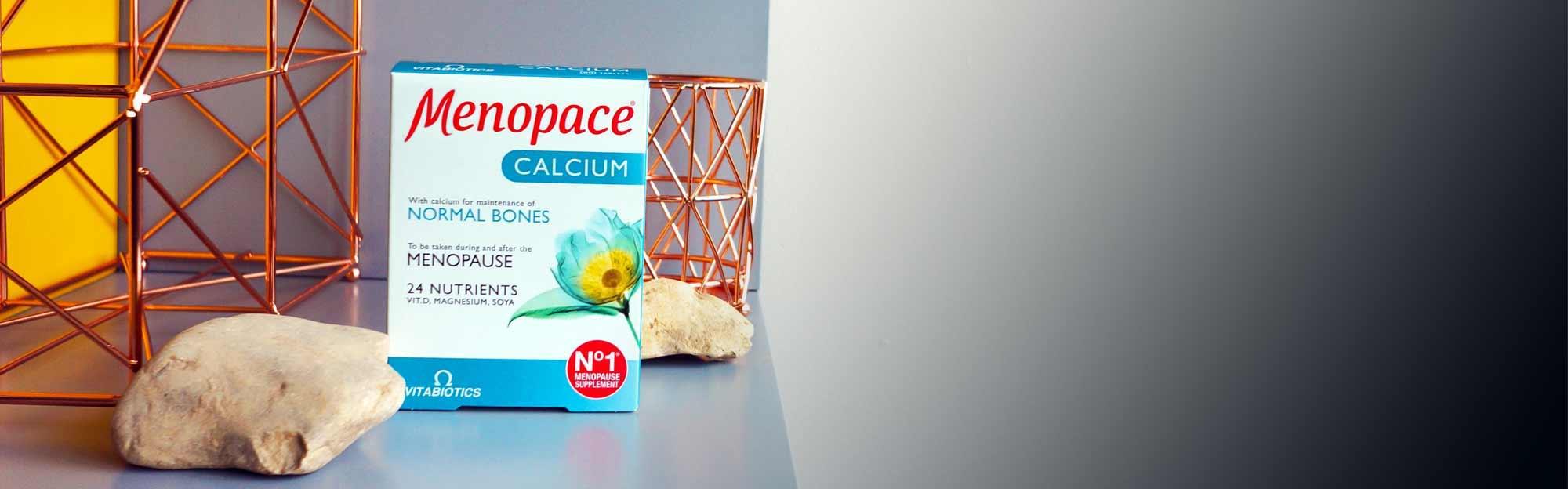Menopace Calcium Pack On Display
