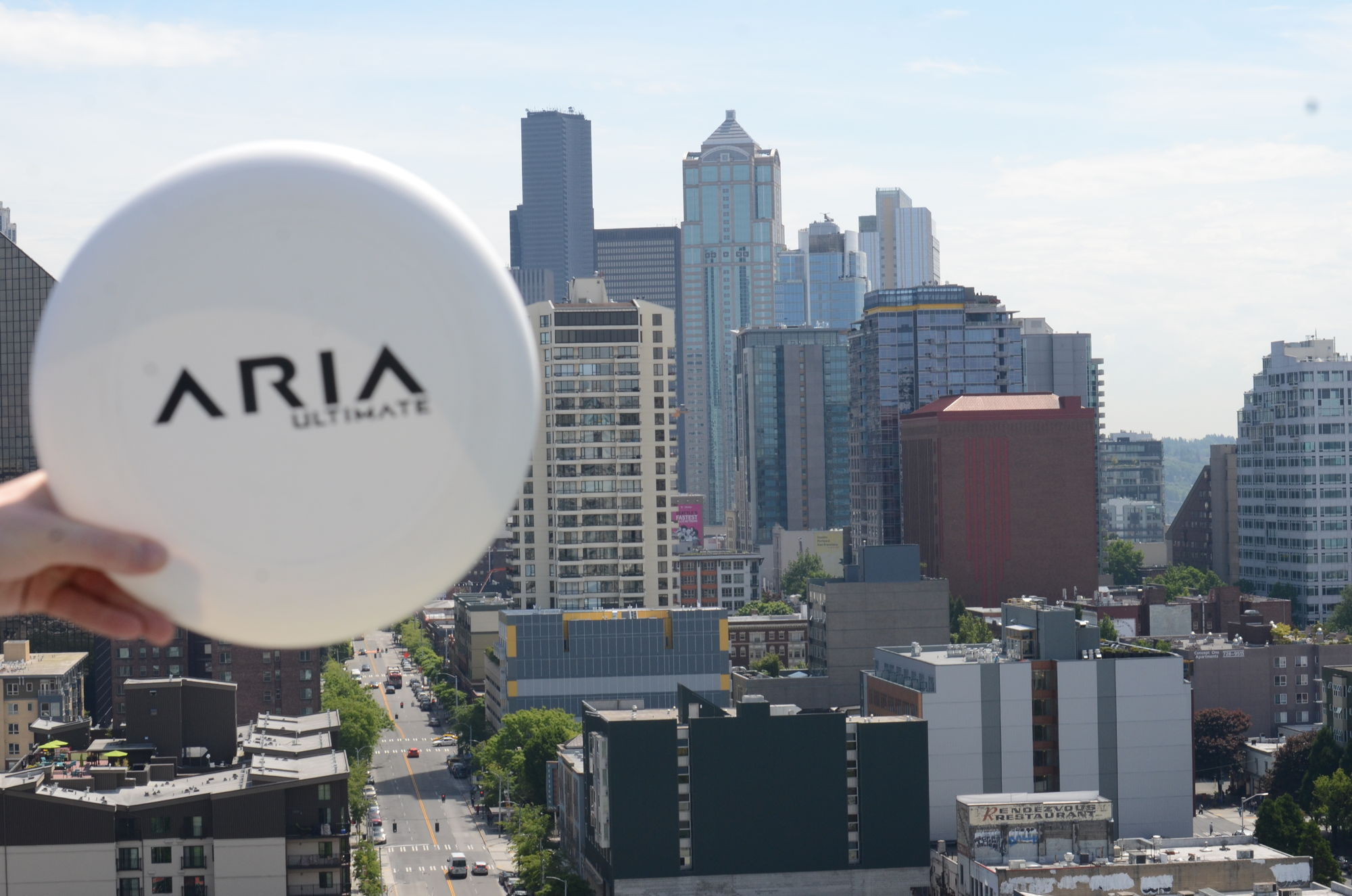 ARIA Ultimate based in Seattle, USA ARIA professional official ultimate flying disc for the sport commonly known as 'ultimate frisbee' goty game of the year