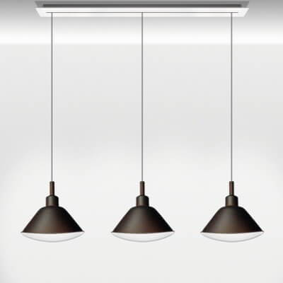 Diesel Living with Foscarini Linear Suspension
