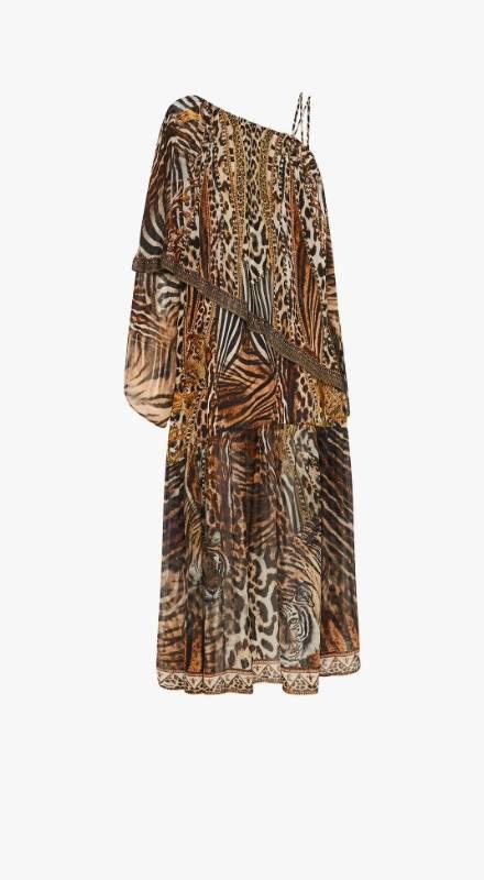 CAMILLA leopard dress