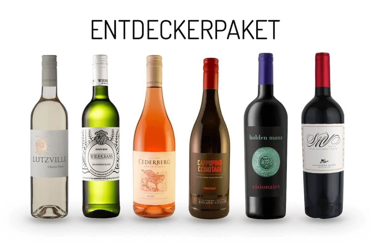 Entdeckerpaket Wein aus Südafrika