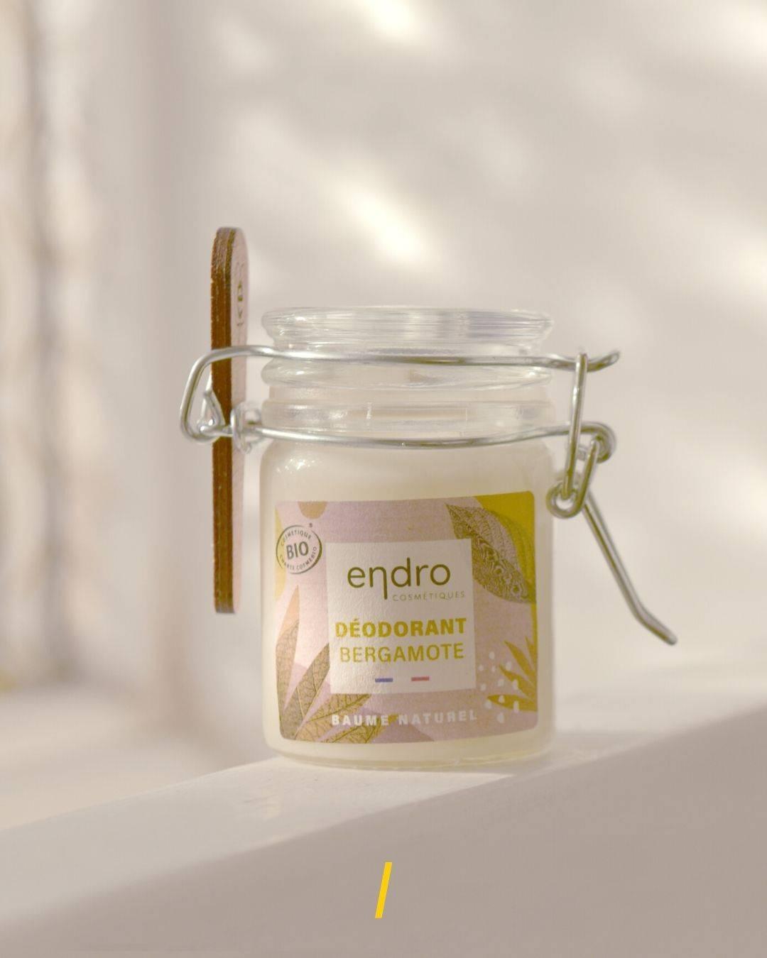 Le déodorant baume - Bergamote - Endro