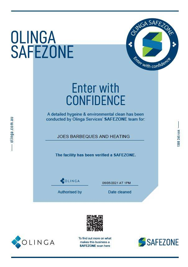 Safezone Certified