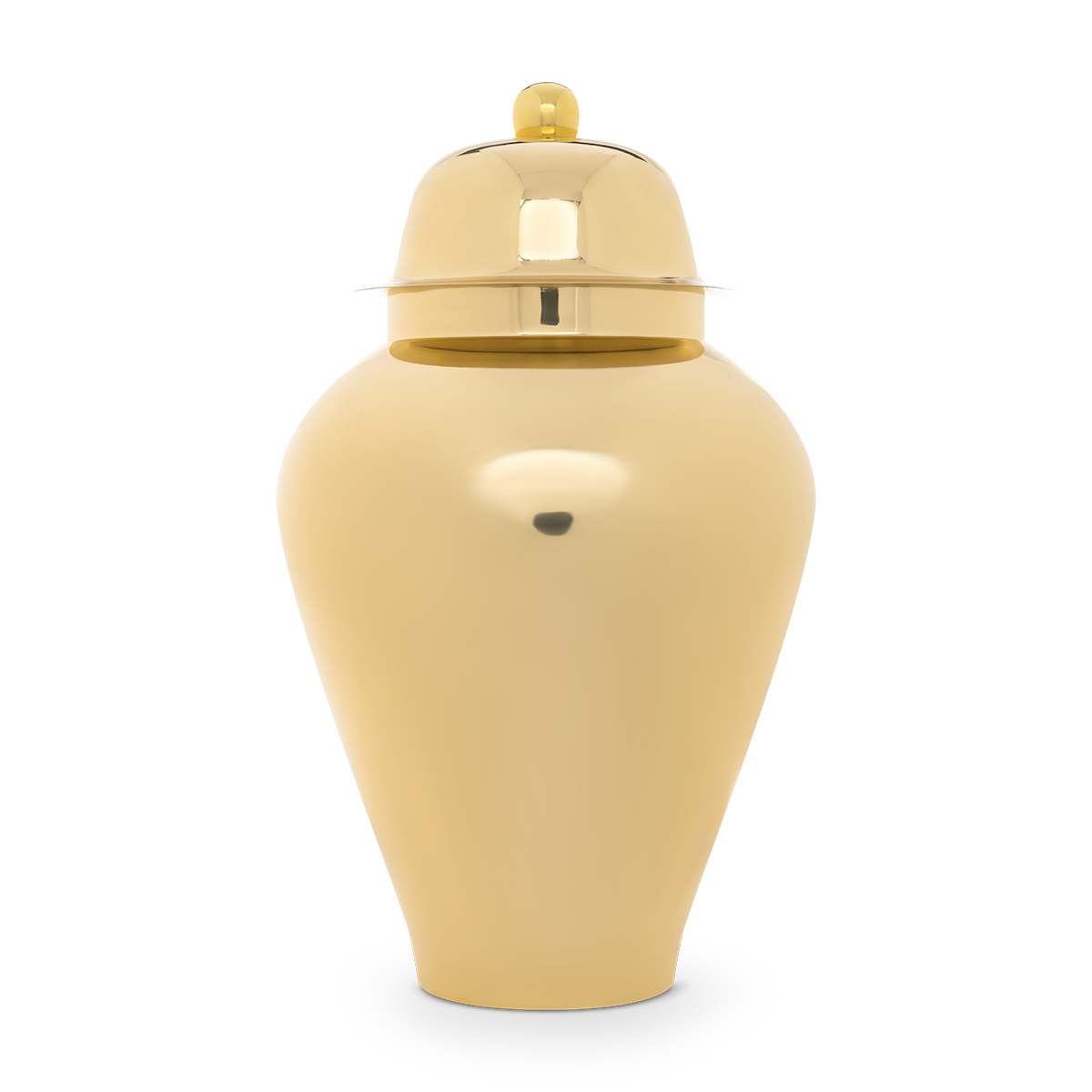 Brass Ginger Jar
