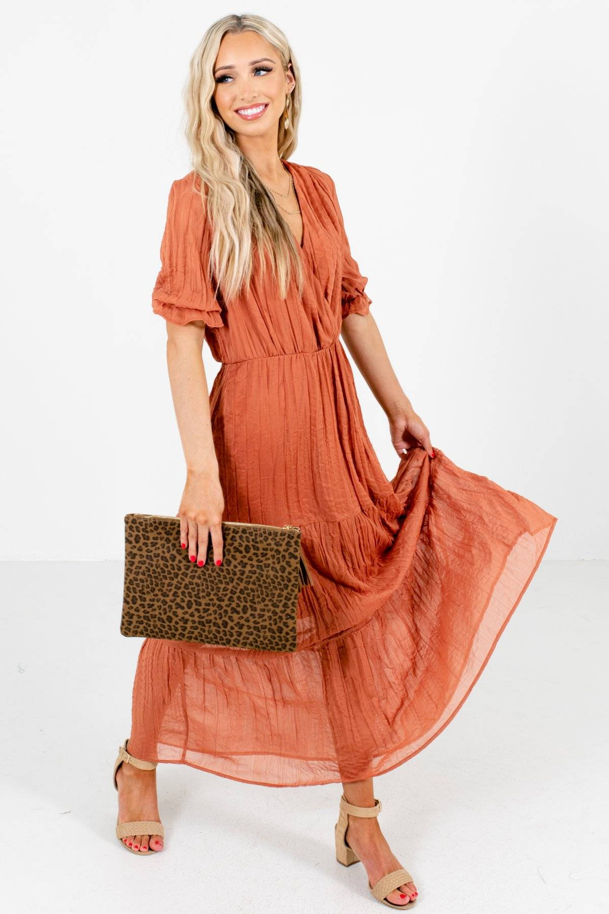 Photo of On the List Maxi Dress
