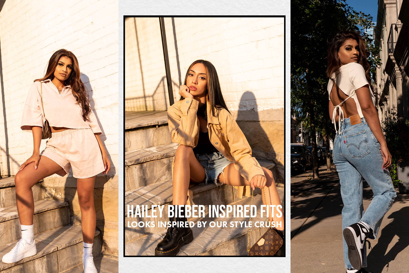 items inspired by Hailey Bieber