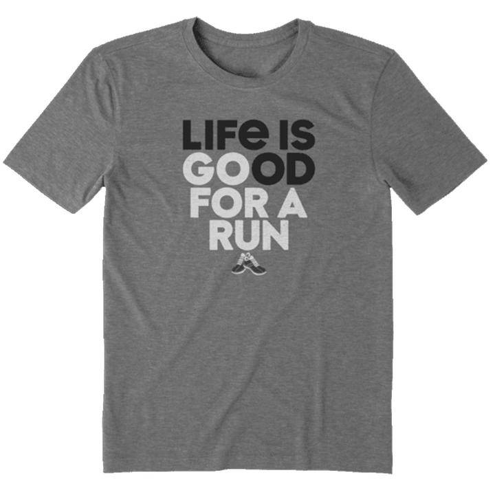 Life is Good Go for a Run Men's Tee