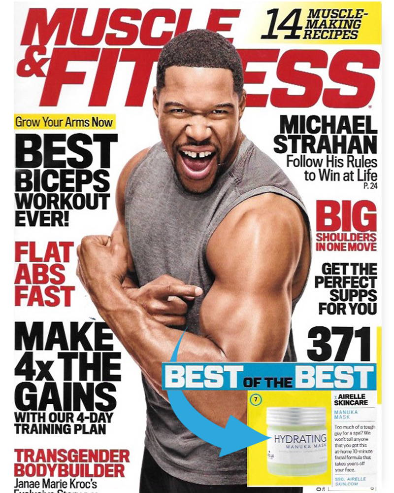 Muscle & Fitness magazine cover