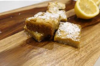 Zesty Vegan Lemon Bars Recipe