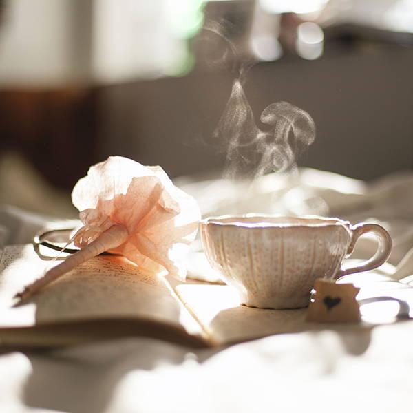 bed-pink-coffee-morning-sunshine-purebee