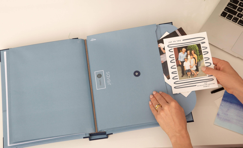 folio document organizer something blue