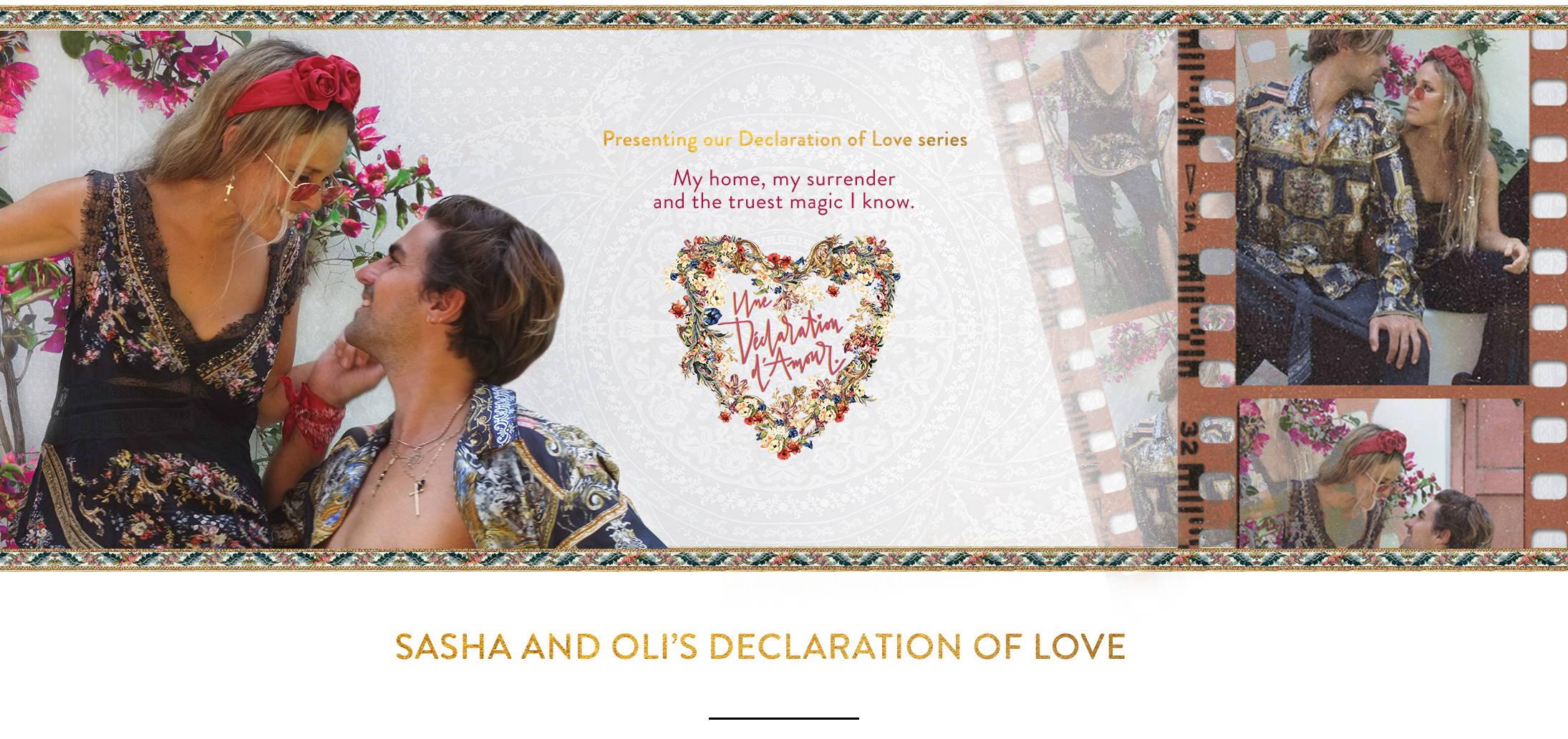 Une Declaration of Love